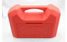 K'Nex Red Plastic Carrying Case Storage Empty Box Only 14 x 10 x 4 Fine