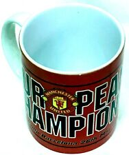 Manchester United Coffee Tea Mug 1999 Champions League Winners Rare