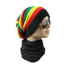 Rastafari Dubwise Beanie Hat Rasta Crown Reggae Tam Bob Marley Cap Africa Roots