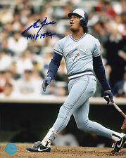 Toronto Blue Jays George Bell Signed Mlb Baseball 8x10 Photo Autograph Pic