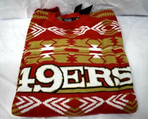 Men's San Francisco 49ers 2015 Aztec Ugly Sweater XL   jc1