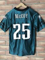 Philadelphia Eagles McCoy Youth Jersey Large 10-12 Green  #25
