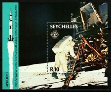 Seychelles stamps 1989 - Space Travel Apollo 11 20th Anniversary MNH Sheet