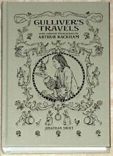GULLIVER'S TRAVELS ~ JONATHAN SWIFT ~ ILLUS RACKHAM ~ REPLICATION OF 1909 ED NEW