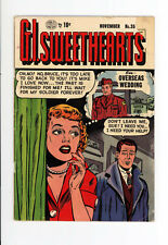 G.I. SWEETHEARTS #35  Very RARE issue from 1953