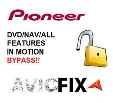 Parking Brake Bypass Pioneer AVIC-Z150BH AVIC-X950BH AVIC-X850BT DVD In Motion