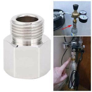 T21-4 zu W21.8-14 Adapter Konverter zum CO2 Zylinder für Soda Soda--Stream