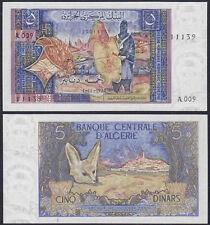 Algerien - Algeria 5 Dinar Banknote 1970 - Pick 126 UNC (13863