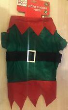 BNWT New Festive Dog Christmas Outfit - Elf Outfit - Size Medium 40cm