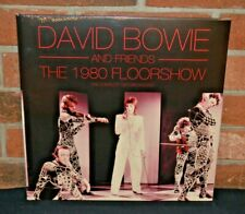 DAVID BOWIE AND FRIENDS - 1980 Floorshow Ltd Import 2LP CLEAR VINYL Gatefold New