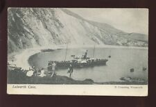 Dorset LULWORTH Cove Paddle Steamer pre1919 PPC by H Cumming of Weymouth