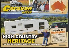 NEW:Australian Caravan and Motorhome On Tour 191 High Country Heritage DVD