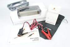 Genuine Porsche Charge-o-Mat Pro Battery Maintainer Charger w/ Alligator Clips