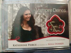 Vampire Diaries Season 2 Nina Dobrev as Katherine Pierce Wardrobe Relic M11