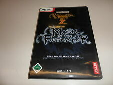 PC NEVERWINTER NIGHTS 2: Mask of the Betrayer (add-on)
