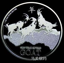 New Zealand 2015 Goat (First Launch) Silver .999 1 oz Coin (UNC)