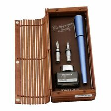 Online Calligraphy Set 1,4mm in Bambus Box