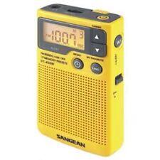 Sangean DT400W Am/Fm Digital Weather Alert Pocket Radio
