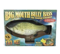 Vtg Big Mouth Billy Bass Singing Fish Take Me To The River Don't Worry Be Happy