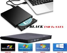 Caddy Case Cover USB To SATA Laptop CD DVD Combo RW Rom Drive External Enclosure