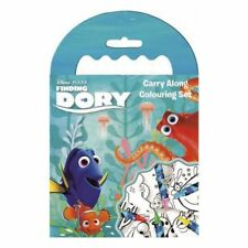 My Little Pony Carry Along Colouring Book 5 Wax Crayons Travel Activity Set Finding Dory
