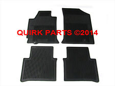 2008-2012 Nissan Altima Sedan Rubber All Weather Front & Rear Floor Mats OEM NEW