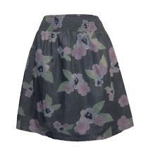 Knielange schwingende Damenröcke aus Baumwolle für die Freizeit