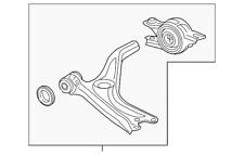 Front Genuine Honda 51350-TR0-A11 Lower Arm