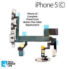 COMPLETO di alimentazione/Lock volume mute/silenzioso pulsante/switch con staffe per iPhone 5 C