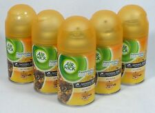 5 Air Wick FreshMatic Spray Refills ACADIA SWEET VANILLA & PUMPKIN Airwick