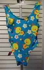 Little Girls Blue Print Bathing Suit 18-23 mos. NWT