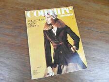 REVUE COUTURE INTERNATIONAL No 59 COLLECTIONS PLEIN HIVER 1975 mode fashion