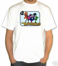 t-shirt GLI IMPOSSIBILI COILMAN FLUIDMAN MULTIMAN the Impossible cartoni anni 70