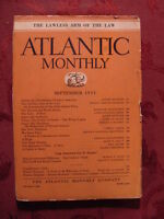 ATLANTIC September 1931 André Andre Maurois Agnes Repplier Lord Dunsany