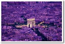 Arc de Triomphe Paris, France - Europe Travel Print POSTER