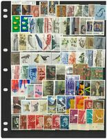 Norway 150 Different Stamps All In Mint & Complete Sets In Glassine Bag