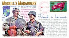 COVERSCAPE computer designed 75th WWII Merrill's Marauders event cover