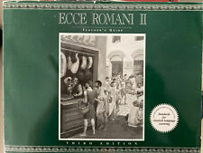 ECCE ROMANI II Green Latin Reading Program Teacher's Guide 3rd Edition