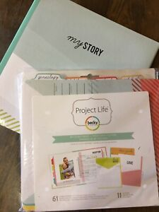 Becky Higgins Project Life My Story Folder
