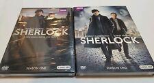 Sherlock: Complete Season 1 AND 2 (DVD, 2010) SEALED