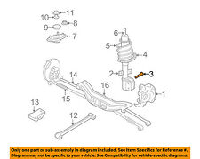 GM OEM Rear Suspension-Strut Bolt 10247637