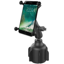 RAM Stubby™ Cup Holder X-Grip Mount for iPhone 6+, 7+ Samsung Galaxy Note,Others