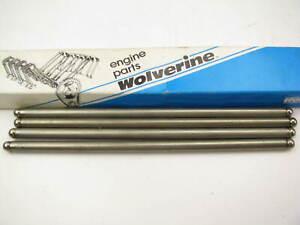 (4) Wolverine PR-1322H Engine Push Rods - 1965 -1996 Ford 4.9L 300 6 Cylinder