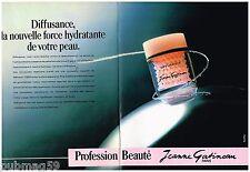 Publicité Advertising 1987 (2 pages) Cosmétique crème Vichy Jeanne Gatineau