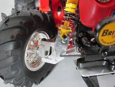 Aluminum Front Pair L/R Knuckles Upright Tamiya 1/10 RC Monster Beetle Blackfoot