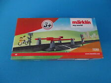 Marklin 72203 MANUAL GRADE CROSSING     MY WORLD