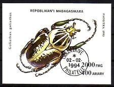 Madagaskar  Block aus aller Welt gestempelt ( intern : 268 )