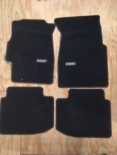 Genuine Honda 96-00 Civic 2 Dr Black Carpet Floor Mats Oem New 08P15-S02-110B