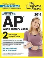 Cracking the A World History Exam, 2014, by the Princeton Review