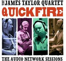 Quick Fire: The Audio Network Sessions - Taylor*James Quartet (2017, CD NEUF)